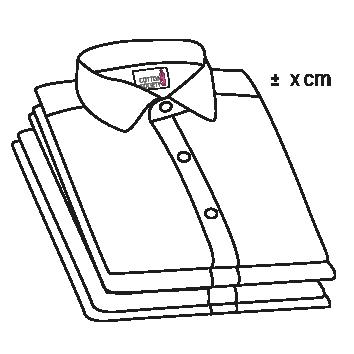 mesures sur chemise