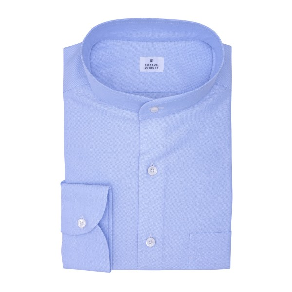 Chemise homme Oxford Uni Bleu