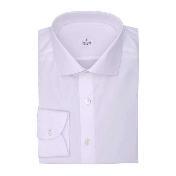 Chemise homme Twill Uni Blanc