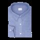 Chemise homme Chambray Uni Bleu