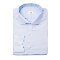 Chemise Oxford Uni Bleu EASY CARE