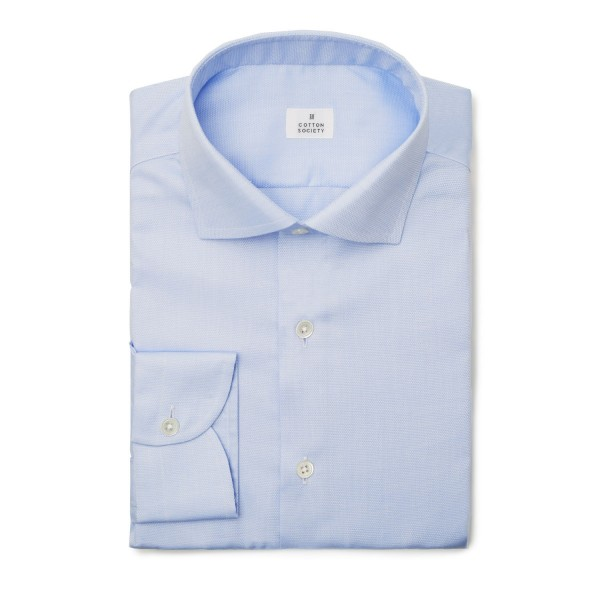 Chemise Oxford Diamond Uni Bleu EASY CARE