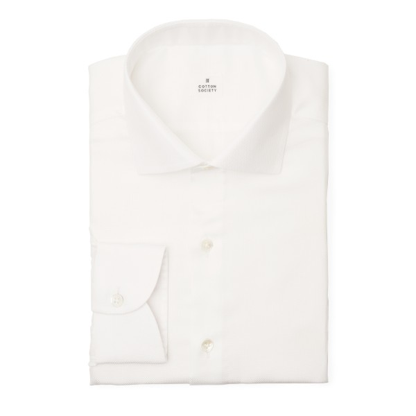 Chemise oxford Diamond Uni Blanc EASY CARE