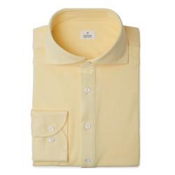 Chemise homme Jersey uni jaune