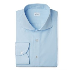 Chemise homme T.Mason Popeline Uni Bleu