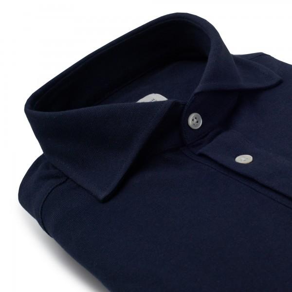 Chemise homme Jersey Uni Bleu