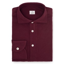 Chemise homme Jersey Uni Prune