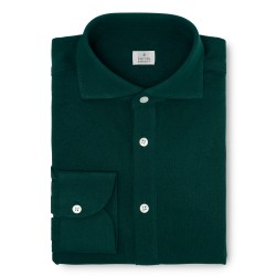 Chemise homme Jersey Uni Vert Sapin