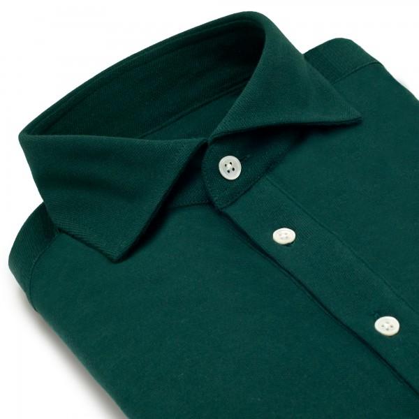 Chemise homme Jersey Uni Vert Sapin