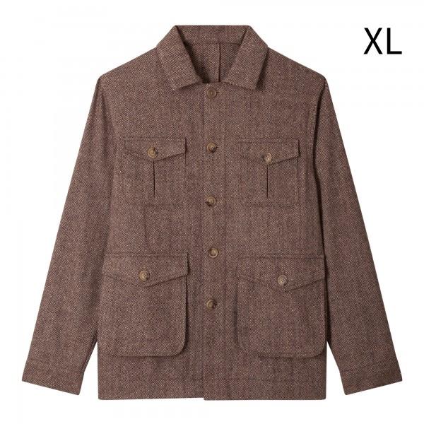 Saharienne Tweed Chocolat XL