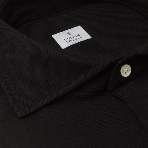 Chemise homme Jersey Uni Noir