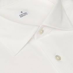 Chemise homme Jersey Uni Blanc
