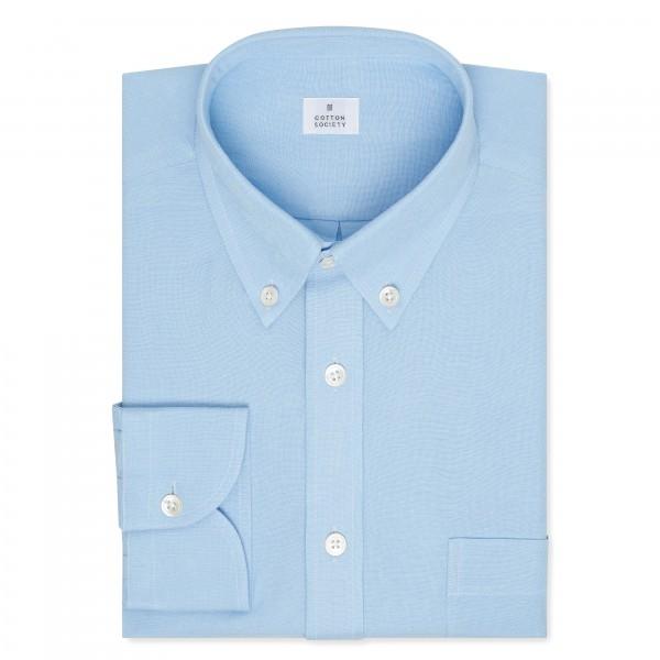 Chemise homme Toile Uni Bleu