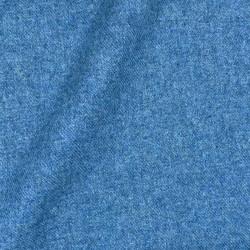 Flanelle Uni Bleu