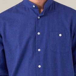 Flanelle Uni Bleu Klein