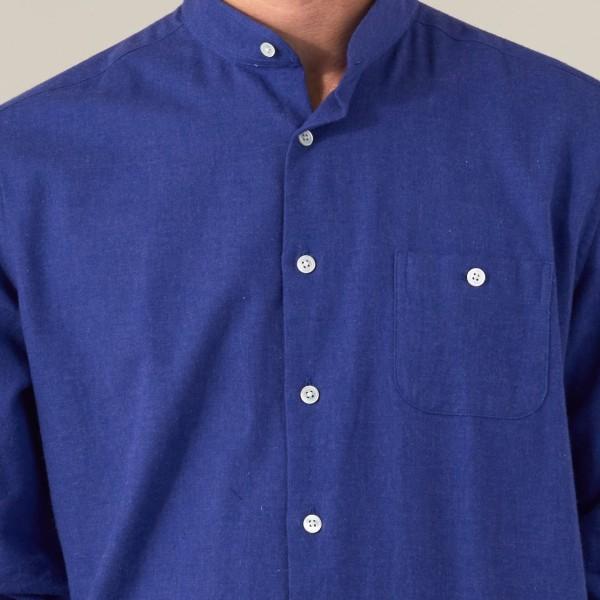 Flanelle Uni Bleu Klein2