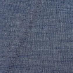 Chambray Uni Gris bleu