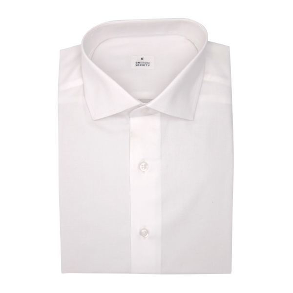 Chemise homme Diamond Plain Uni Blanc