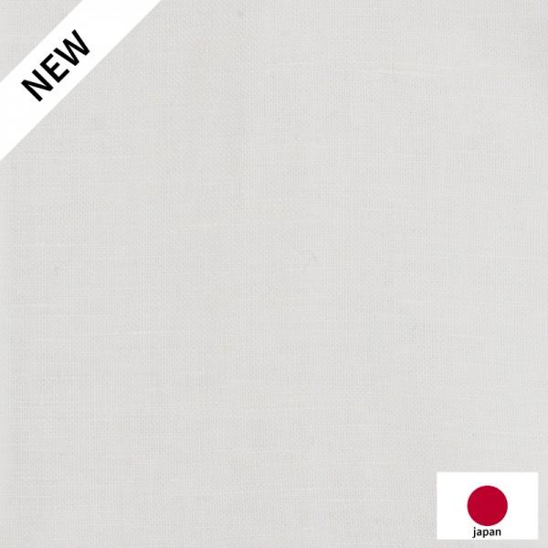 Chambray Japonais Uni Blanc