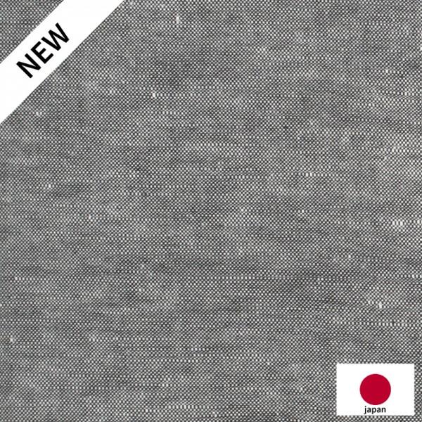 Chambray Japonais Uni Noir