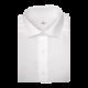 Chemise homme Oxford Diamant Uni Blanc