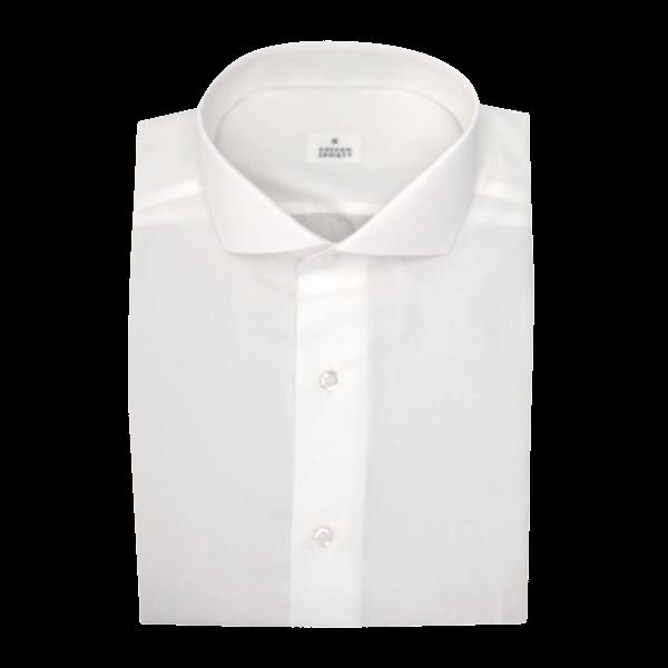 Chemise homme Popeline Uni Blanc
