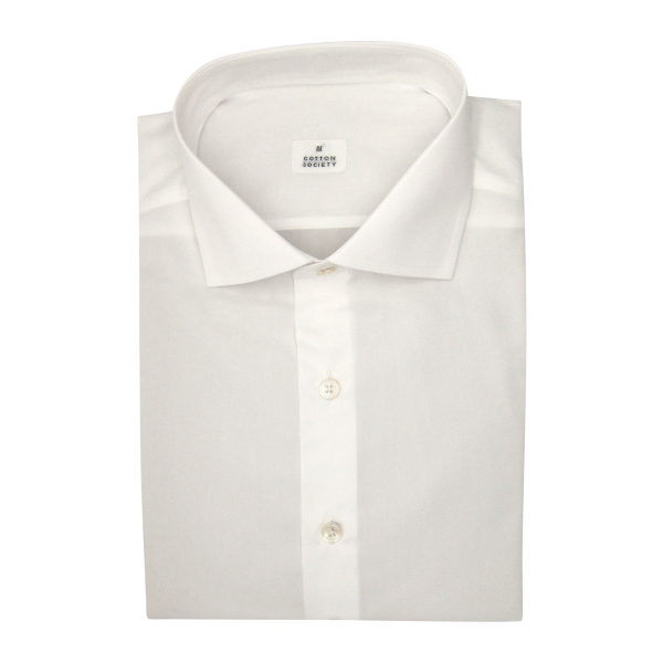 Chemise homme Pin-point Uni Blanc