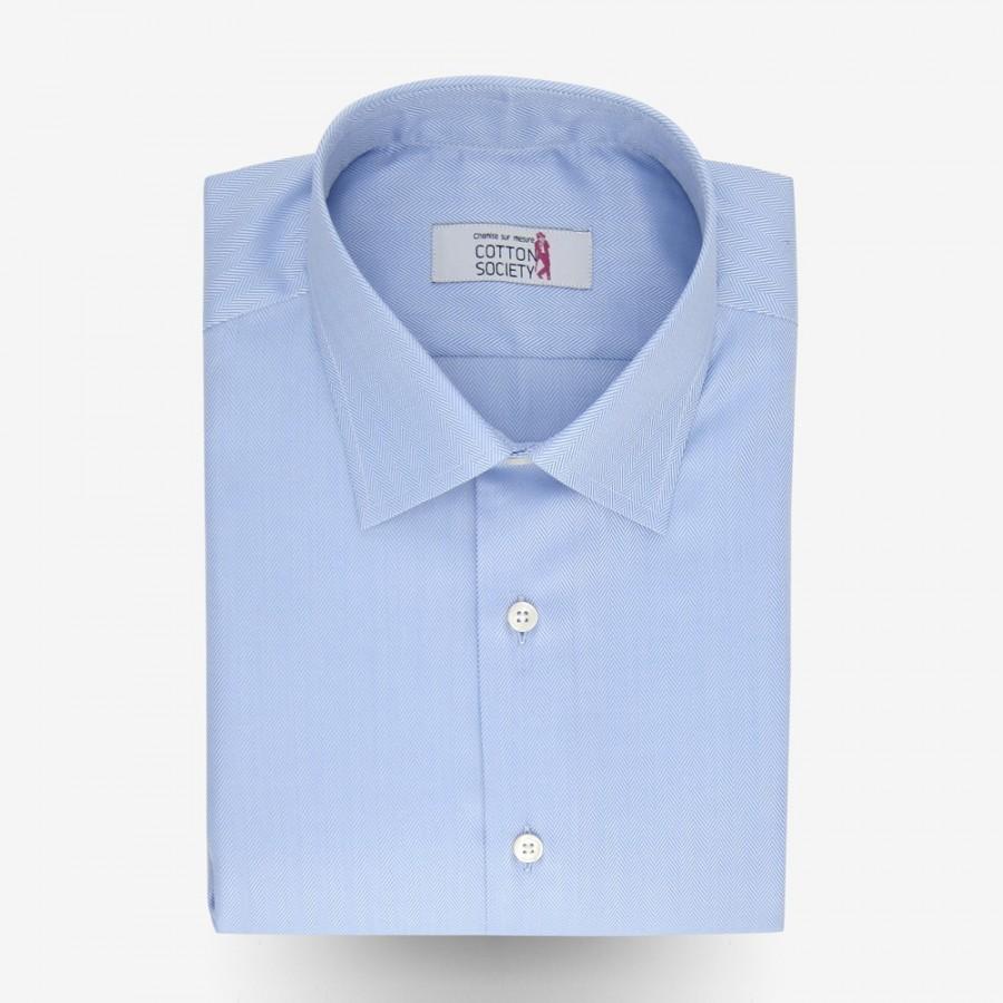 Chemise bleue photo