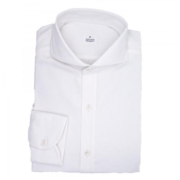 Chemise homme Jean Uni Blanc