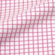 Twill Carreaux Rose